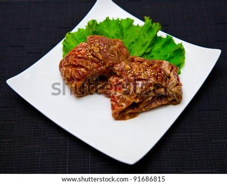 Korean cuisine - stock photo
