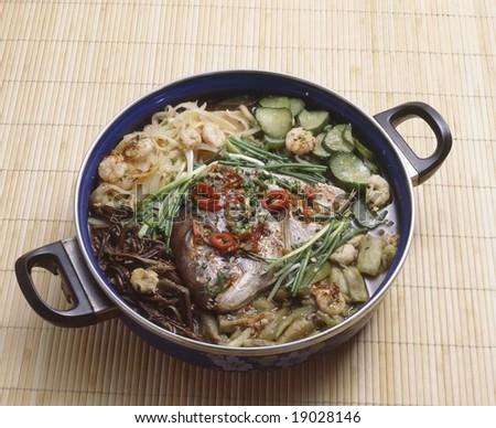 Korean Stew - stock photo
