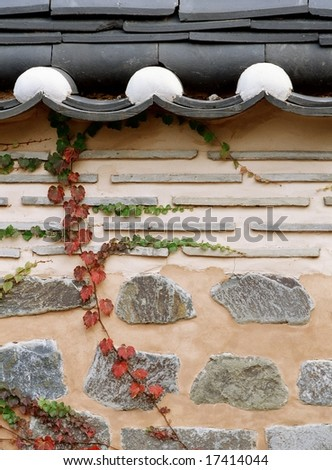 Korean Tradition and Symbol - stock photo