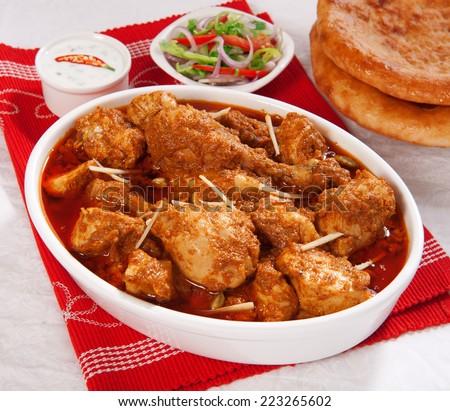 Korma Chicken-2 - stock photo
