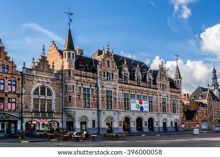 Kortrijk belgium may 12 2014 urban stock photo 396000058 for Courtrai belgium