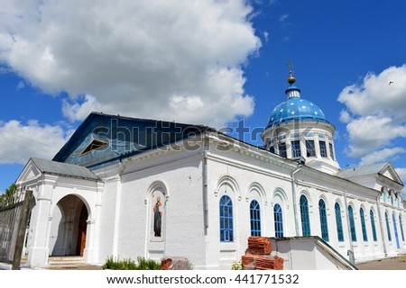 Kotelnich City, Russia - June 12, 2016: St. Nicholas Cathedral