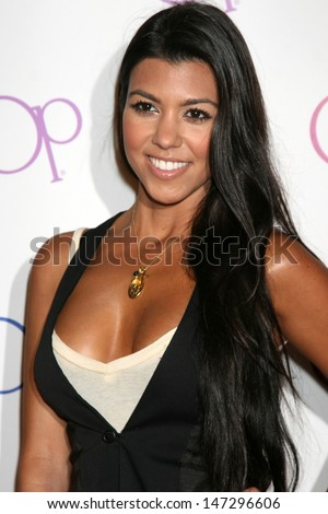 Kourtney Kardashian OP Ad Campaign Launch Beverly Hills,  CA June 3, 2008 - stock photo