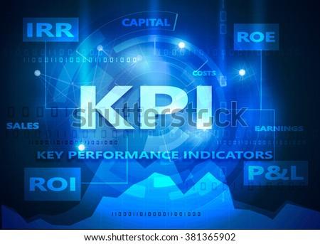 kpi - stock photo