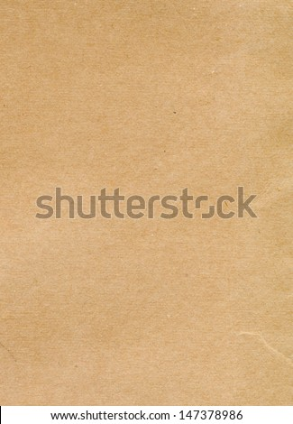 kraft paper background - stock photo