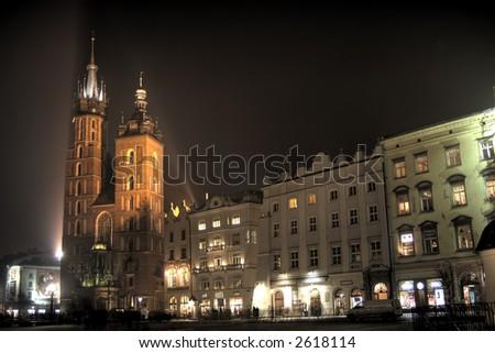 Krakow, Poland - stock photo