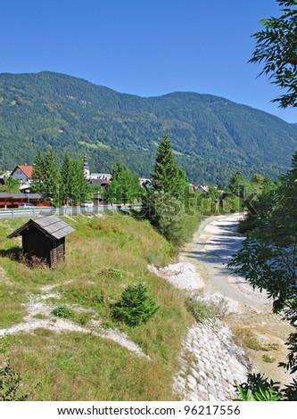 Kranjska Gora,julian Alps,Slovenia - stock photo