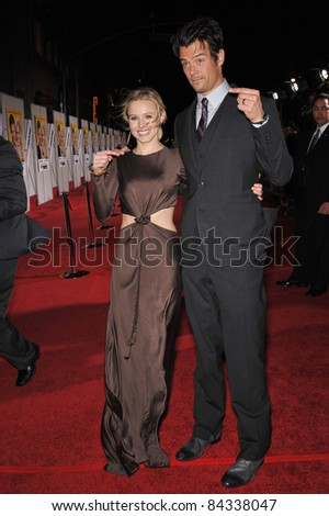 "Kristen Bell & Josh Duhamel at the world premiere of their new movie ""When in Rome"" at the El Capitan Theatre, Hollywood. January 27, 2010  Los Angeles, CA Picture: Paul Smith / Featureflash"