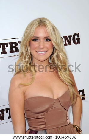 "Kristin Cavallari at the ""Country Strong"" Los Angeles Special Screening, Academy of Motion Picture Arts and Sciences, Beverly Hills, CA. 12-14-10"