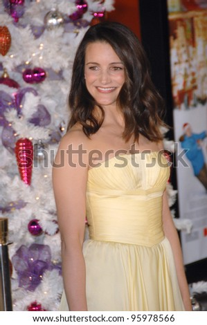 "KRISTIN DAVIS at the world premiere of her new movie ""Deck the Halls"" at Grauman's Chinese Theatre, Hollywood. November 12, 2006  Los Angeles, CA Picture: Paul Smith / Featureflash"