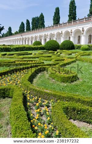 Versailles France Gardens Versailles Palace Near Stock Photo