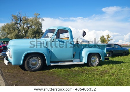 1954 ford f100 pickup truck stock images royalty free images vectors shutterstock. Black Bedroom Furniture Sets. Home Design Ideas