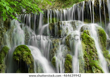 Krushunski waterfalls during the spring, Krushuna village, Bulgaria