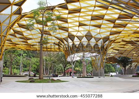 Kuala lumpur jan 10 2016 facade stock photo 455077288 for Gardening tools kuala lumpur