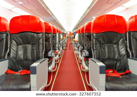 Airbus A320 Interior Stock Images Royalty Free Vectors