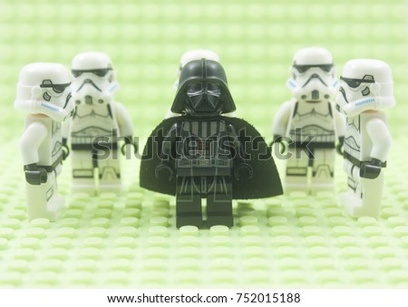 Kuala Lumpurmalaysiaoctober 9th 2017close Lego Star Stock Photo ...