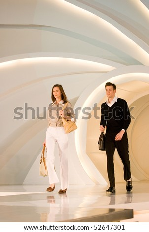 KUALA LUMPUR - MAY 8:  models pose an outfit creation by Valentino Rudy during Licence To Styles fashion show on May 8,2010 in Kuala Lumpur Malaysia - stock photo