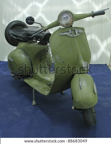vintage vespa stock photos royalty free images vectors shutterstock. Black Bedroom Furniture Sets. Home Design Ideas