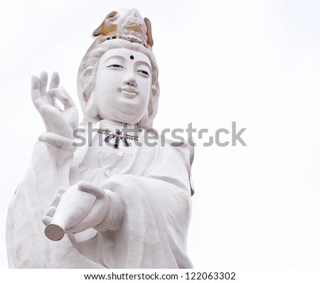 Kuan Yin,  Goddess of China. - stock photo