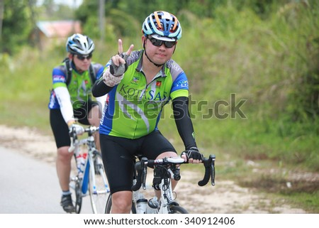 Kuantan, 7 July 2015 : KUANTAN160 is an open road cycling event covering 160km around the city of Kuantan and Pekan. More than 1900 cyclists participated with more than 400 international riders
