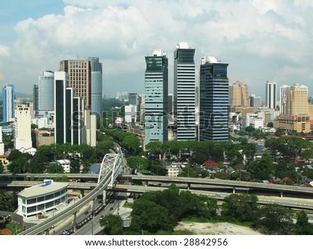 Kula Lumpur City Center - stock photo
