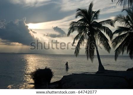 Kuna yala, San blas, Panama. - stock photo
