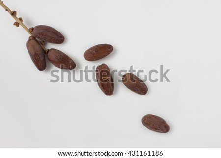 Kurma or Dried Dates Popular During Ramadhan or Fasting Month