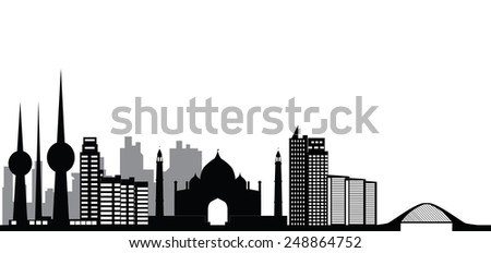 kuwait skyline city