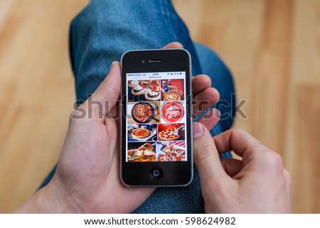 Dominos Pizza Stock Images, Royalty-Free Images & Vectors ...