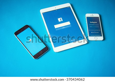 Social network for mobile devices logo