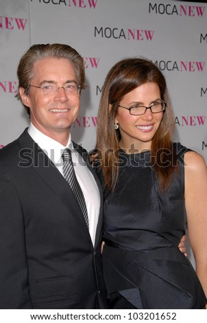 Kyle MacLaughlin and wife at the MOCA New 30th Anniversary Gala, MOCA Grand Avenue, Los Angeles, CA. 11-14-09