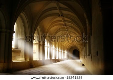 L'Abbaye Royale de Fontevraud, Loire Valley, France - stock photo
