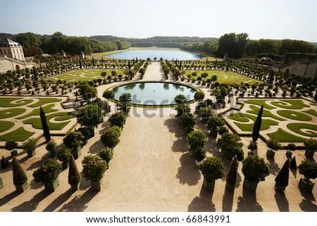L'Orangerie in Versailles - stock photo