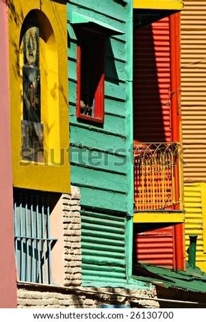 La Boca, Buenos Aires - stock photo