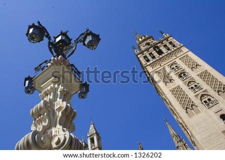 La Giralda,Sevilla,Spain - stock photo