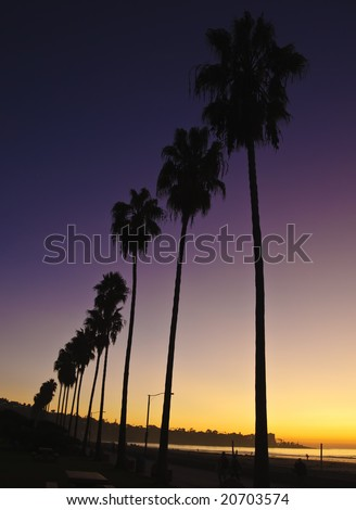 La Jolla Shore. San Diego, California - stock photo