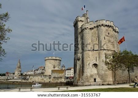 La Rochelle - stock photo