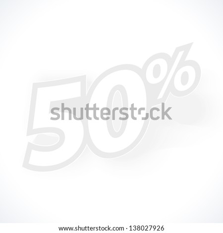 Label for special offers and sales discount. Template for style design. - stock photo