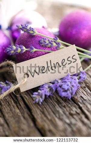 Label, Wellness - stock photo