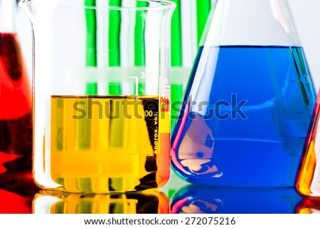 Laboratory, Chemistry, Test Tube.