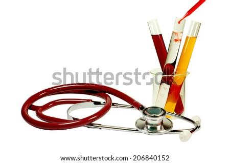 Laboratory Diagnostic. - stock photo