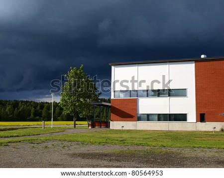Laboratory in Finland - stock photo