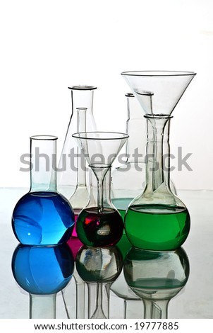 laboratory, lab - stock photo