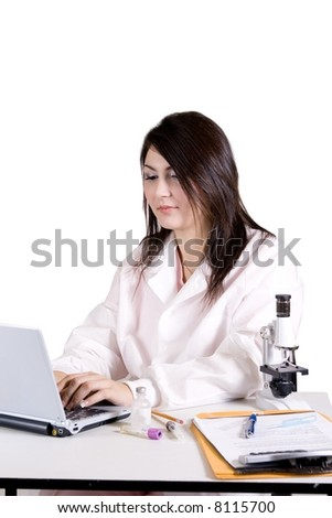 laboratory result - stock photo