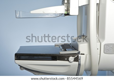 laboratory with mammography machine - stock photo