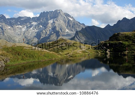Lac du Lauzon in the Parc National des Ecrins, France