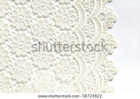 lace - stock photo