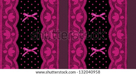 Lace and mesh seamless pattern. Raster.