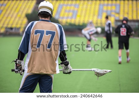 Lacrosse - stock photo