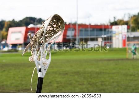 Lacrosse Stick - stock photo